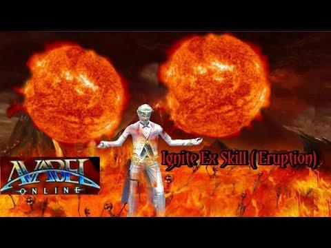 Avabel Online Magician : Ignite Ex Skill (ReUpload)