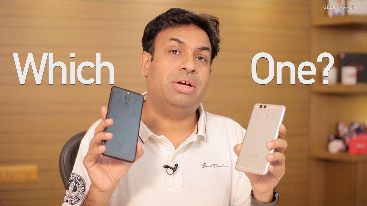 Huawei Honor 9 Lite, Huawei Honor 7x and Huawei Honor 9i - Comparison