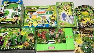 My Latest Ben 10 toys Collection