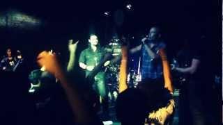 Suprema - Burning My Soul Ft. Victor Raiser - Traumatic Scenes Tour 2012 in Maceio-Brazil