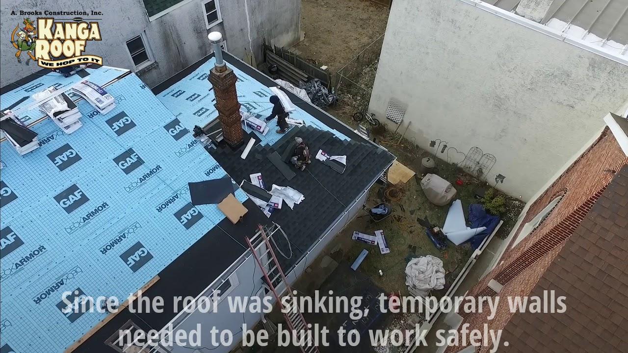 Full Renovation Work By A Brooks Kanga Roof PA