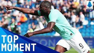 Lukaku's First-Half Brace Gives Inter a Commanding Lead! | Sassuolo 3-4 Inter | Serie A