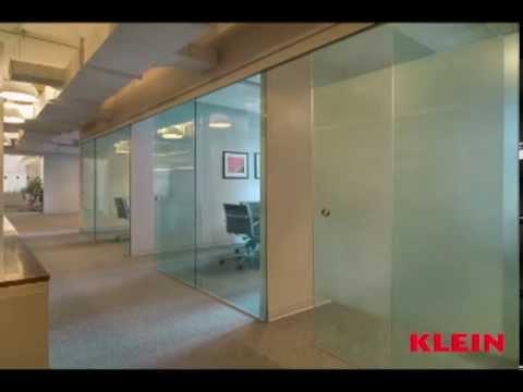 Interior Glass Partition Walls | Klein USA   YouTube