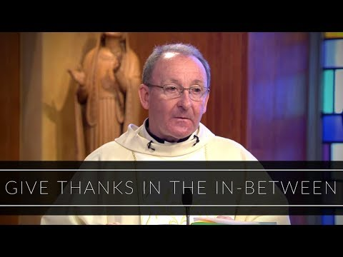 Give Thanks in the In-Between | Homily: Father Liam Bergin