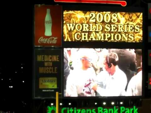 Phillies Win World Series: Locker Room Celebration