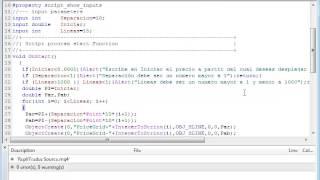 Tutorial para programar un script que haga una parrilla de líneas MT4
