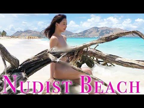 【ガチ全裸】ヌーディストビーチは天国だった【セントマーチン】