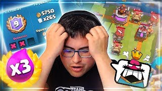 MY GREATEST FAILURE IN THE TRIPLE CHALLENGE OF ELIXIR | Clash Royale