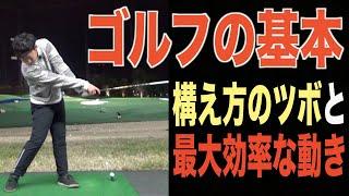 当たり前だけどやっていない人が多い??ボールを打つまでの手順と動きのポイントを解説。ゴルフ上達は基本の習得にあり!