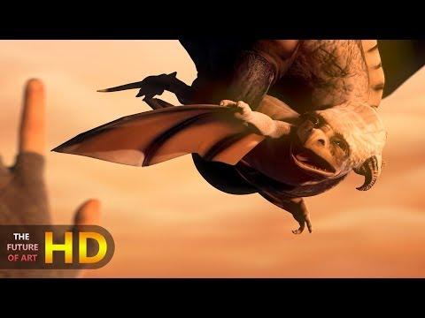 "CGI 3D Animated Teaser Trailer HD: ""Sintel"""