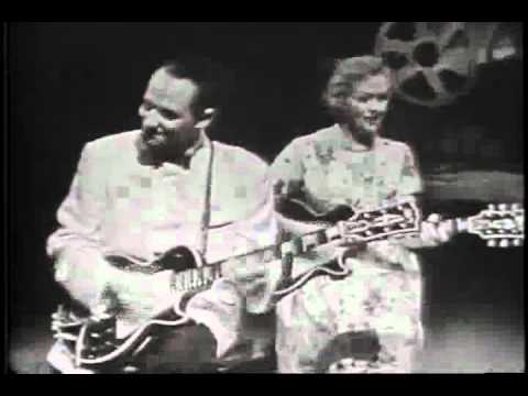 Les Paul & Mary Ford on American Bandstand