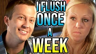 Guy Brags 'I Only Flush Once A Week' To Girl On First Date