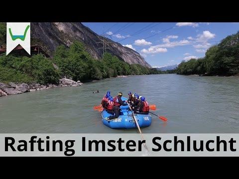 Rafting Imster Schlucht - Bergwasser Beim Rafting In Tirol