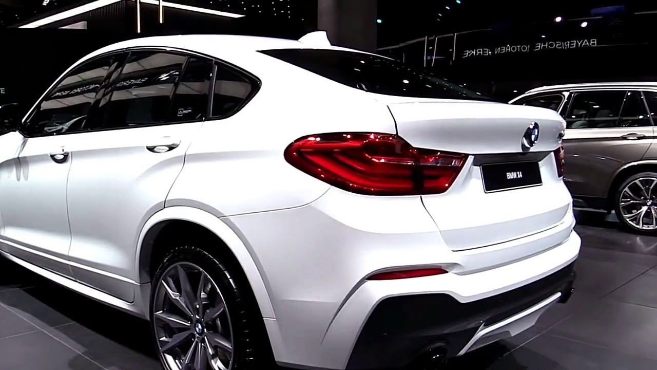 2020 BMW X4 Redesign, M40i, M Package >> 2018 Bmw X4 M40i Gl Fullsys Features New Design Exterior Interior First Impression
