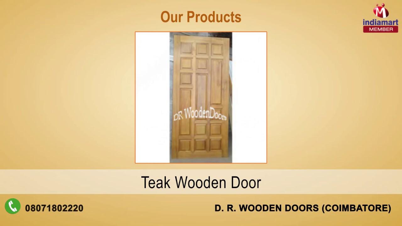 Wooden Doors u0026 Frames By D. R. Wooden Doors Coimbatore & Wooden Doors u0026 Frames By D. R. Wooden Doors Coimbatore - YouTube