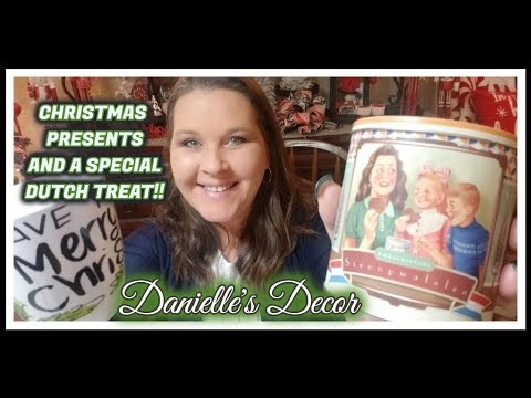 Christmas Presents and a Special Dutch Treat!