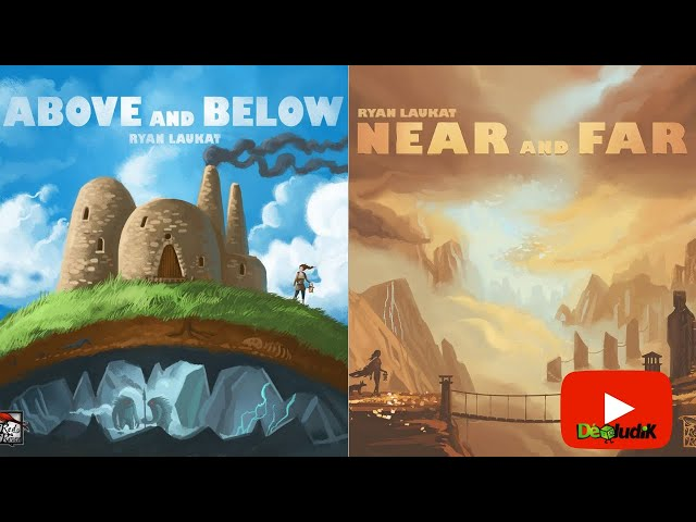 Above & below  - Near and Far - présentation  - lucky duck games