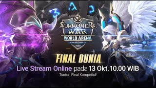 [ID] SWC2018 World Finals @Seoul |Summoners War |서머너즈워