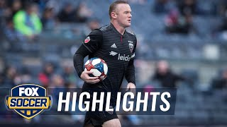 Wayne Rooney nets first MLS hat trick | 2019 MLS Highlights