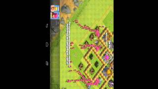 Clash of clans ataque fantasma con tropas infinita