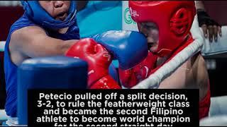 Nesthy Petecio bags boxing gold in Aiba Women's World Championship