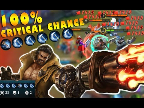 Mobile Legends New Hero Roger 100% Critical Chance Gameplay