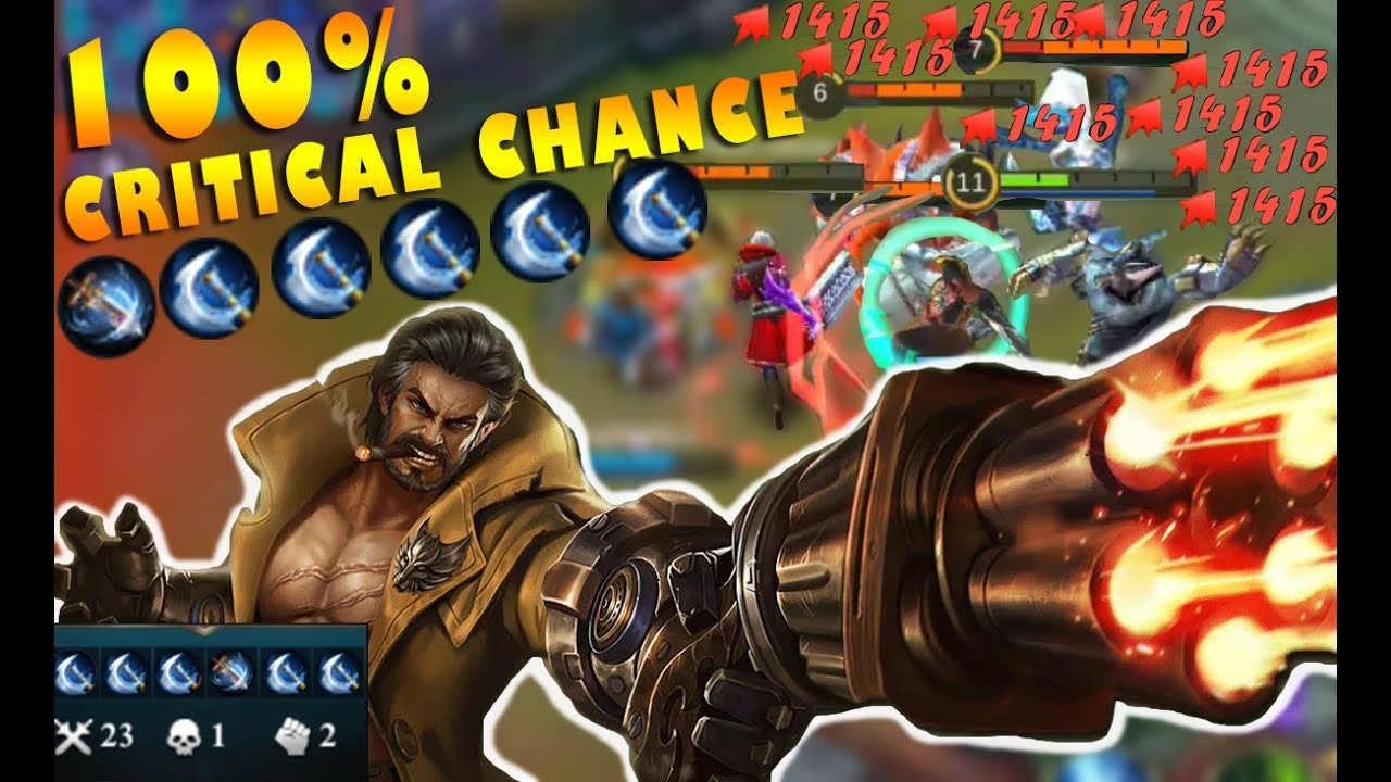 Mobile Legends New Hero Roger 100% Critical Chance