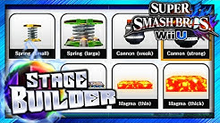 Super Smash Bros. for Wii U / 3DS - Stage Builder (Custom Stages, First Impressions & New Features!)