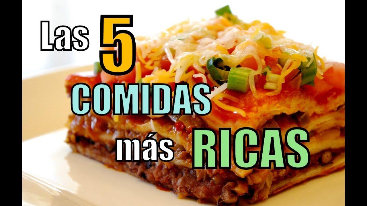 Las 5 comidas m s ricas del mundo youtube for Que es la comida molecular