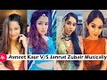 Jannat Zubair V/S Avneet Kaur Musically on Same Songs