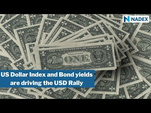Dollar Index and Bond yields are driving the USD Rally