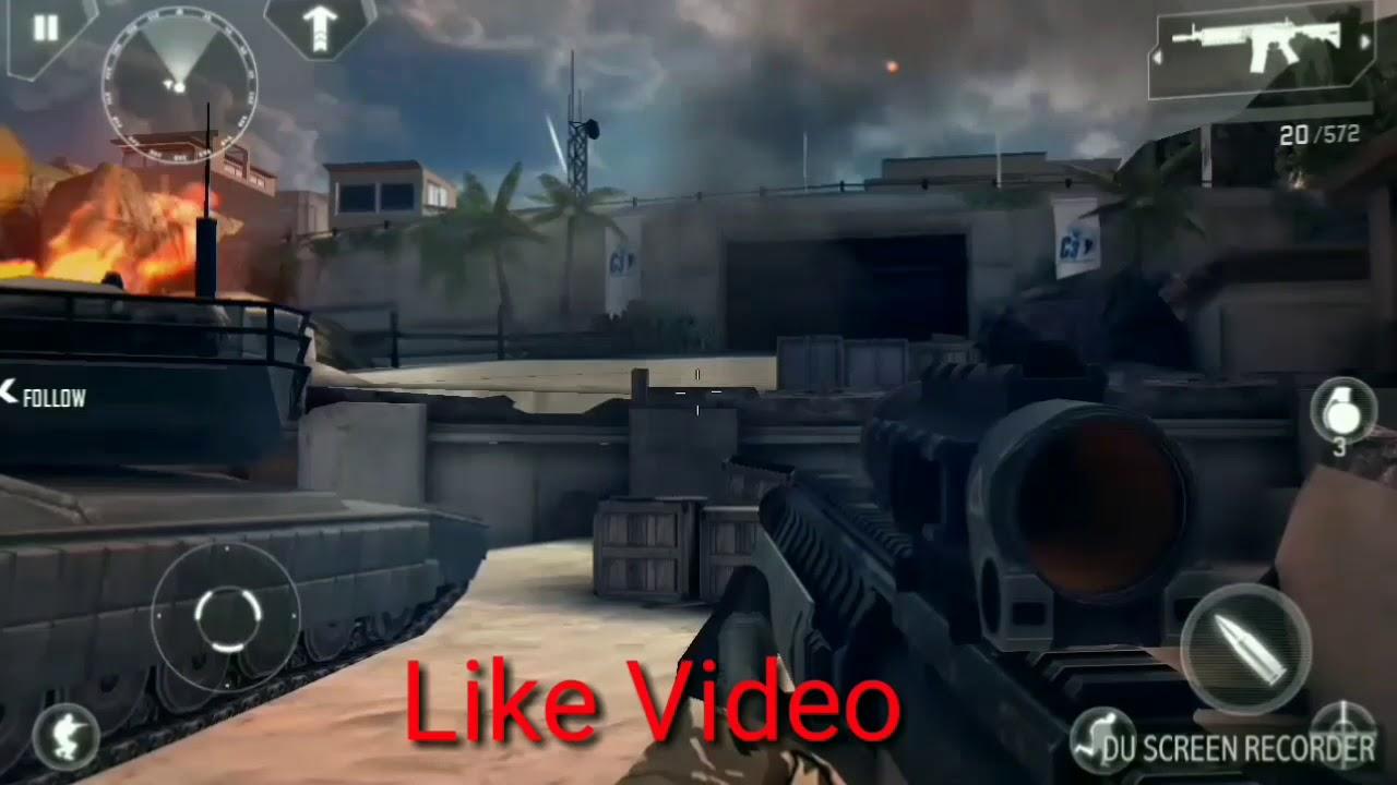 modern combat 4 zero hour mod apk + data offline