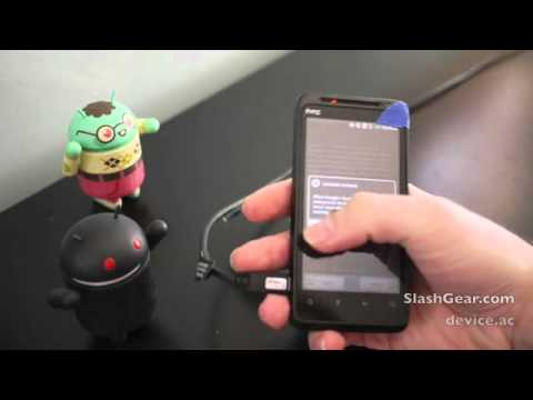 HTC EVO Design 4G Hands on and Unboxing Video   SlashGear