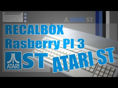RECALBOX Raspberry PI 3 - ATARI ST - YouTube