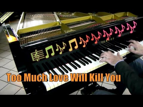 Queen - Too Much Love Will Kill You - Rock Ballad Piano Cover - Milan - The Miracle
