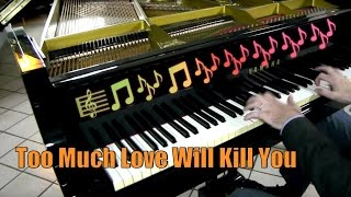 Fabrizio Spaggiari: Queen - Too Much Love Kill You - Rock Ballad Piano Cover - Milan - The Miracle