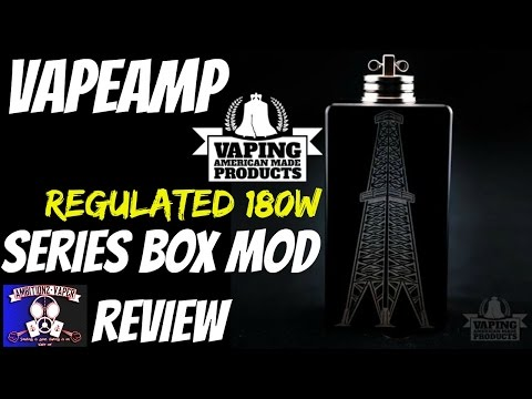 Vapeamp {RIG} 180w Regulated Box Mod Review | Mosphet Protected Beast!