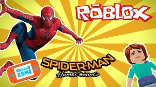 Roblox Spider-Man HomeComing spanish Gameplay for PC with Abrelo Game