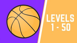 Five Hoops Game Walkthrough Level 1-50