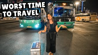 TEL AVIV TO JERUSALEM BY BUS (don't make this mistake)