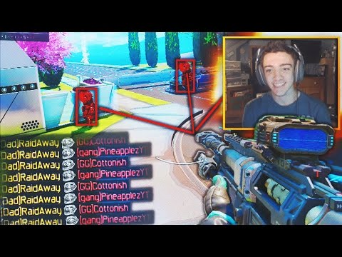 "THEY CAUGHT ME HACKING?! - BLACK OPS 3 INSANE ""AIMBOT HACKER"" 100% ACCURACY TROLL! (BO3 Gun Game)"