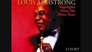 Watch Louis Armstrong Your Cheatin Heart Single video
