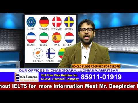 Study in Denmark & Sweden Guidance by Deepinder Bawa