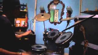 ost. Soul Eater - Black Paper Moon (drum lip sync cover)