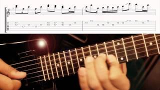 Alain Makaba - Soukous Guitar Transcription - Pile ou Face - part 1 of 4