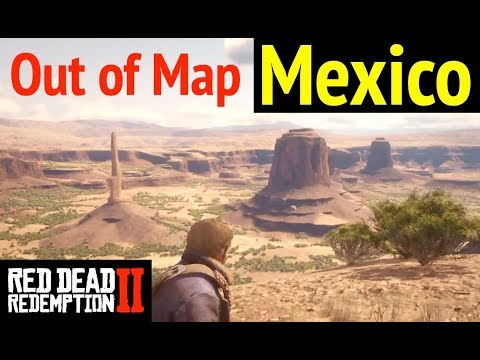 Reach Mexico (Out of Map) in Red Dead Redemption 2 (RDR2): Explore El Presidio and Ojo del Diablo thumbnail