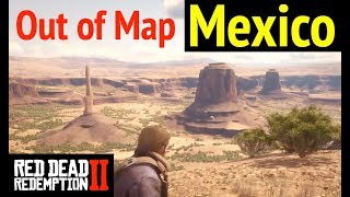 Gambar cover Reach Mexico (Out of Map) in Red Dead Redemption 2 (RDR2): Explore El Presidio and Ojo del Diablo