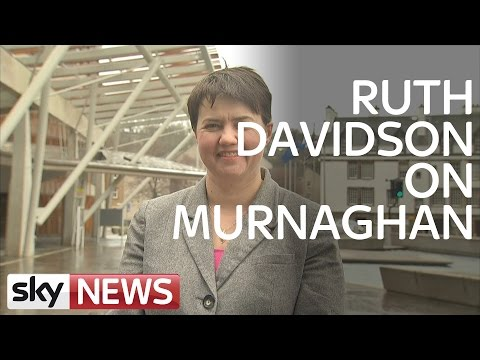 Ruth Davidson Talks EU Referendum and SNP On Murnaghan