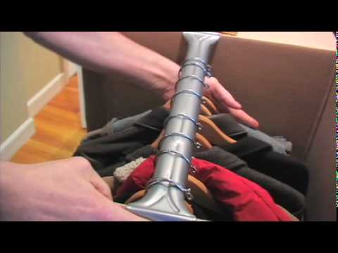 How to Pack Wardrobe Boxes