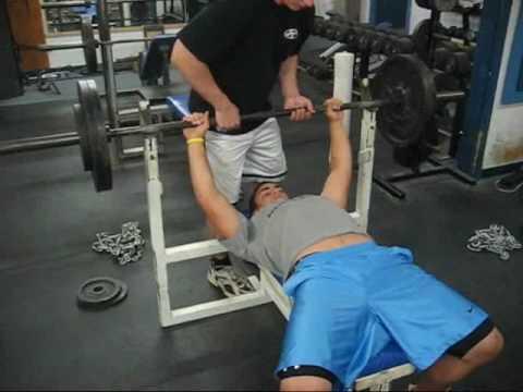 275 lb Bench Press - 14 Yr Old Freshman